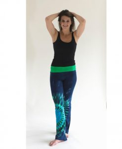 Blue/Green Yoga Pants