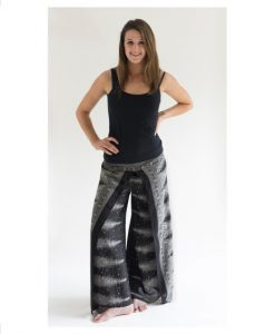 Black Wrap Pants