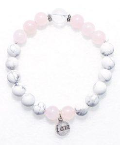 howlite love bracelet