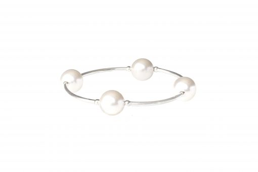 White Pearl Bracelet. Classic Best Seller Blessing Bracelet Perfect Mother's Day Holiday gift for Mom