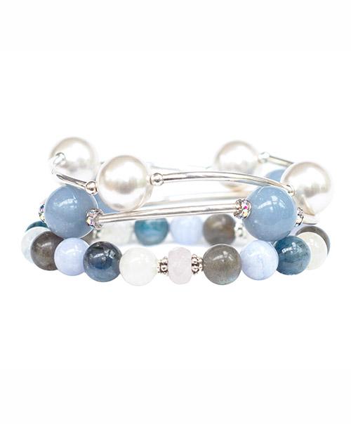 Forgiveness Trio - Blessing Bracelets and Ho'Oponopono Wrist Mala