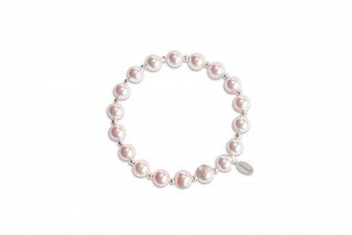 Count Your Blessings Bracelet in Pink Pearl