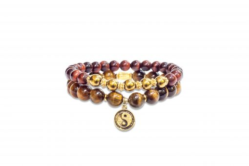 Tigers Eye Wrist Malas