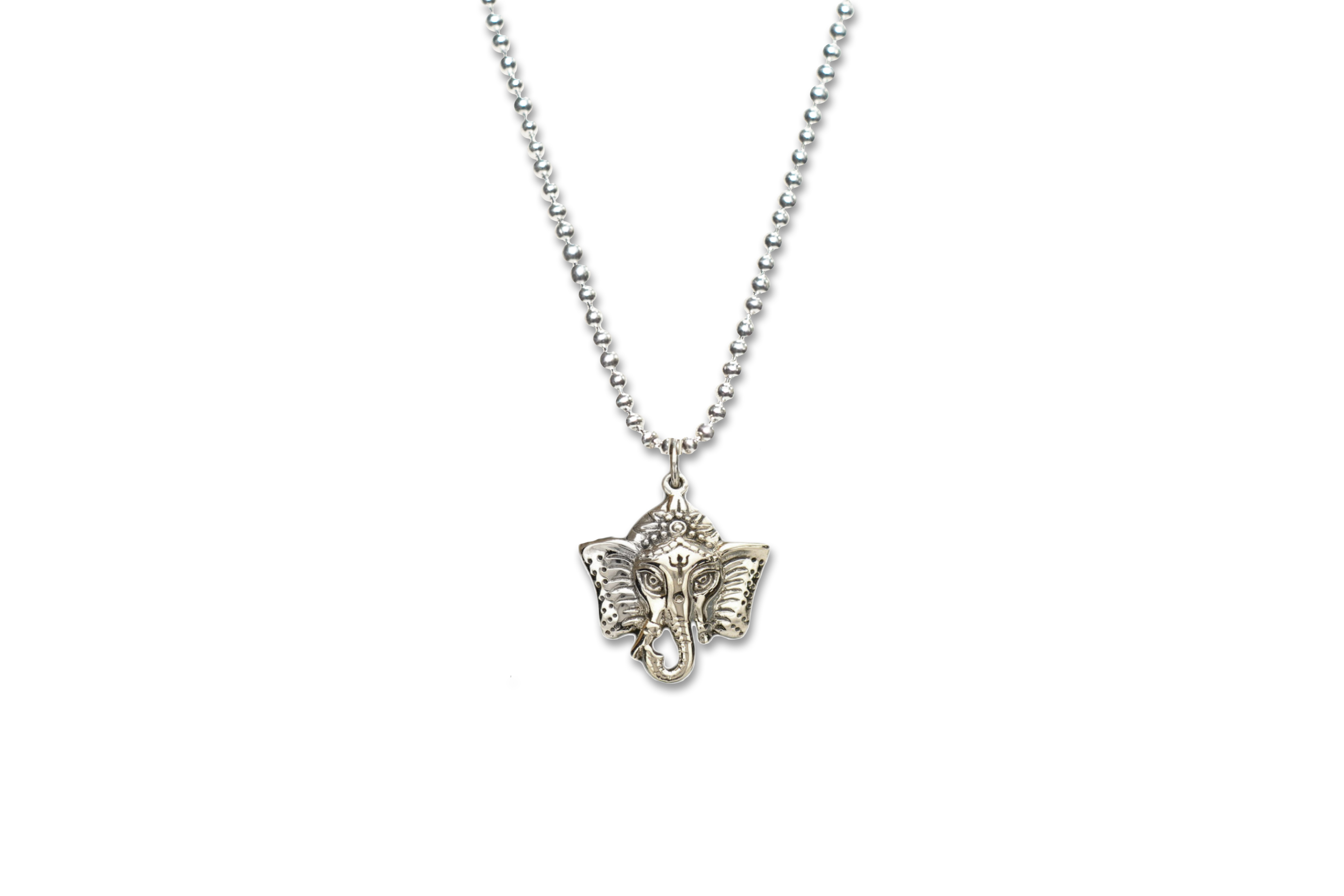 0f9b8147d Sterling Silver Ganesha Necklace - Made As Intended
