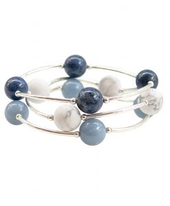 The Jeans and a T-Shirt Trio of Gemstone Blessing Bracelets