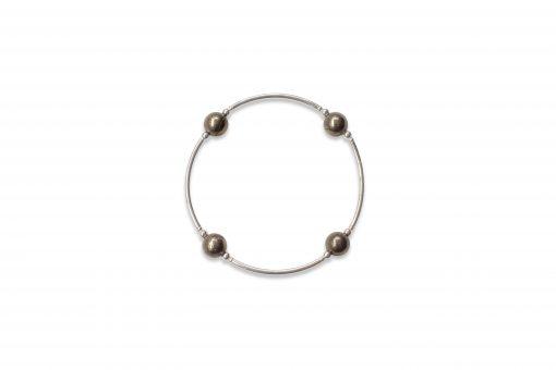 Smaller Bead Pyrite Blessing Bracelet