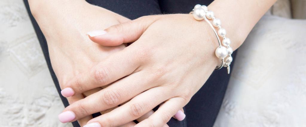 Swarovski Pearl Blessing Bracelets